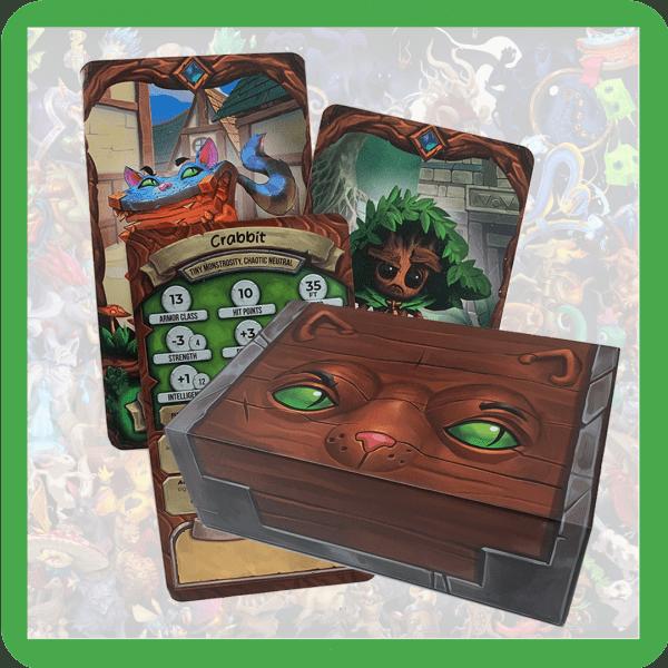 Stibbles' Codex: Companion Cards [Regular Deckbox]