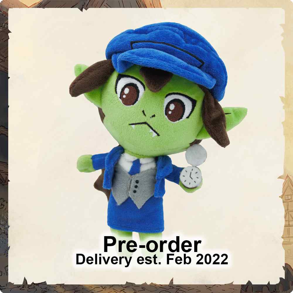 Twisted Taverns: Goblin Conductor Plushie