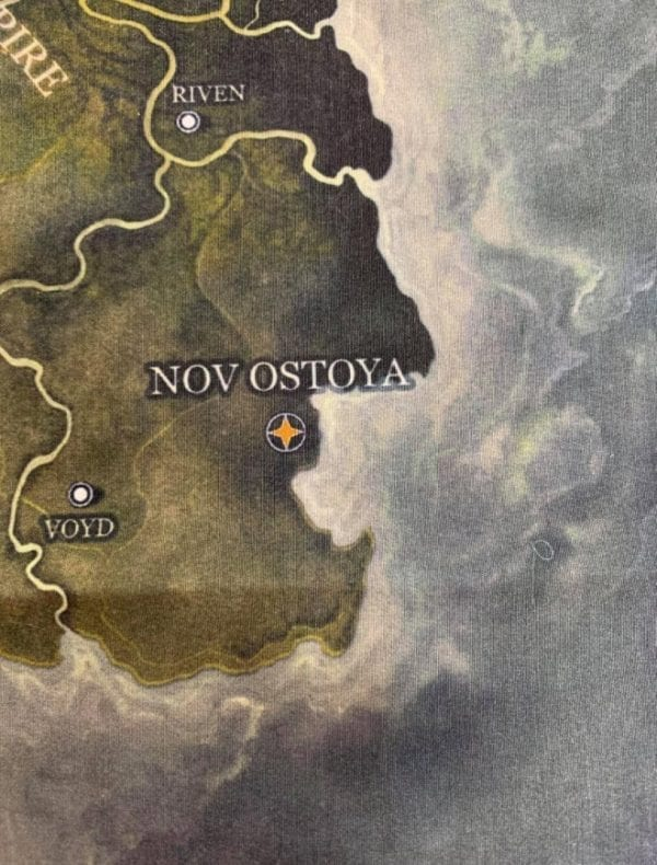 Grim Hollow Fabric Map Of Etharis img 2