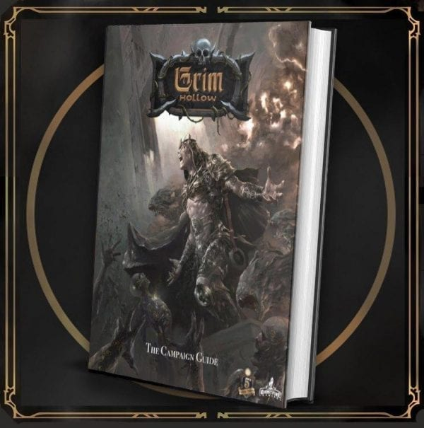 Grim Hollow The Campaign Guide Hardcover Book featured