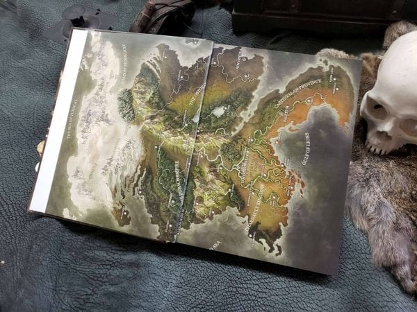 Grim Hollow The Campaign Guide Hardcover Book img 1