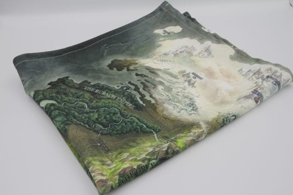 Grim Hollow Fabric Map Product Image One