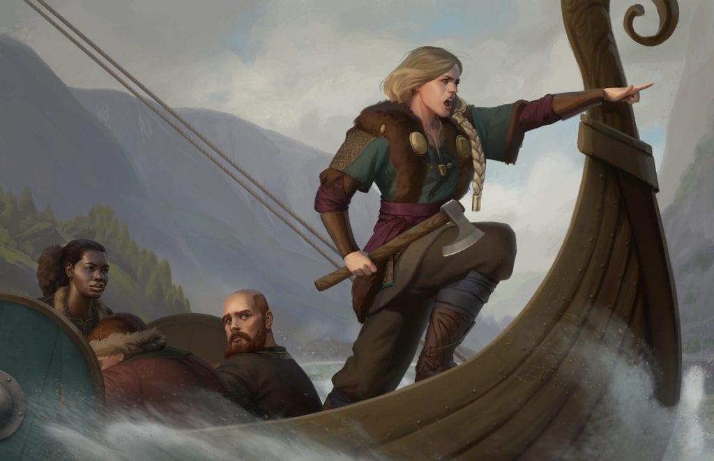 The Story of Fulfillment: Valikan Clans Raider