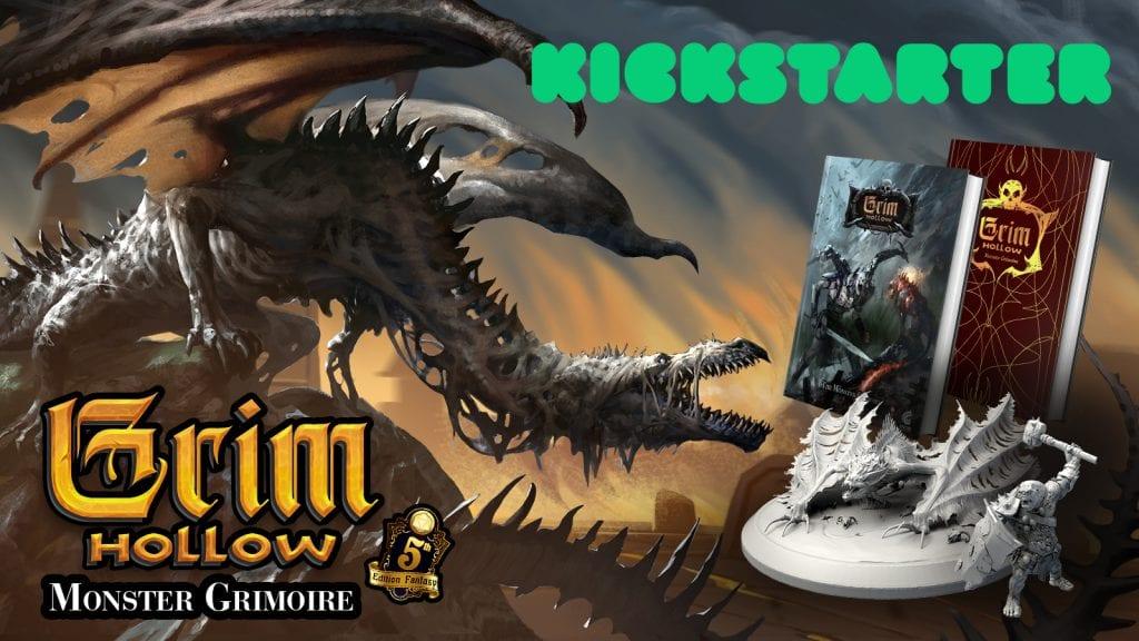 Kickstarter Grim Hollow: The Monster Grimoire