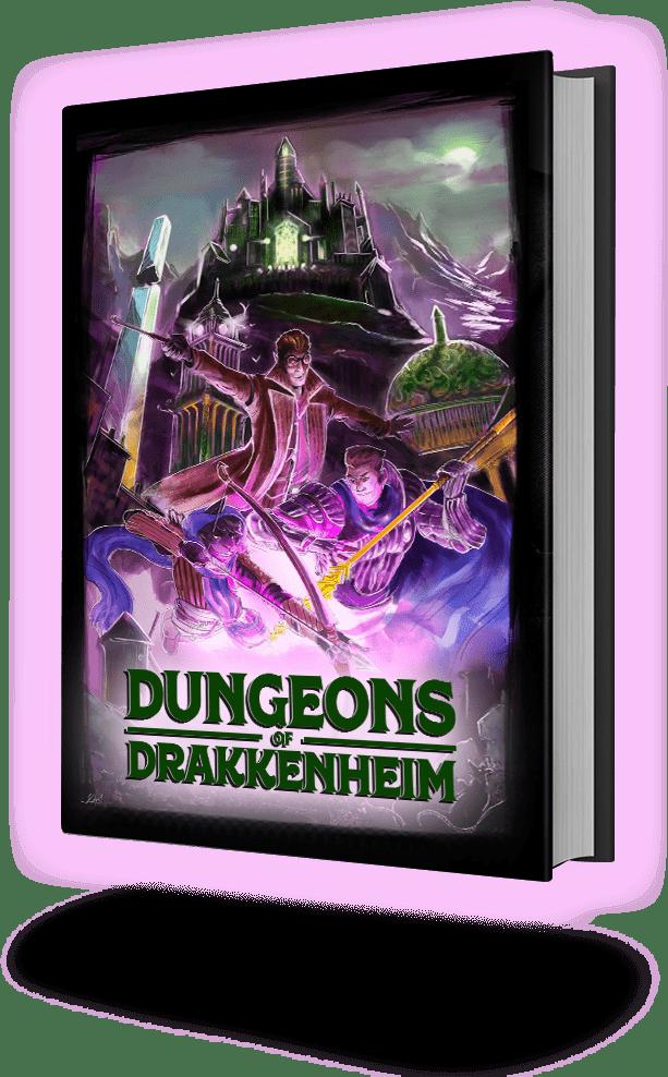 Dungeons of Drakkenheim Book Image