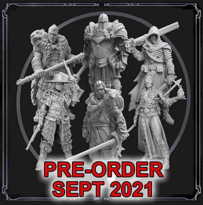 Grim Hollow: Miniature Box Set (Martial Classes)
