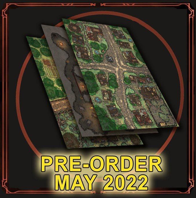 Grim Hollow: Monster Grimoire Map Pack