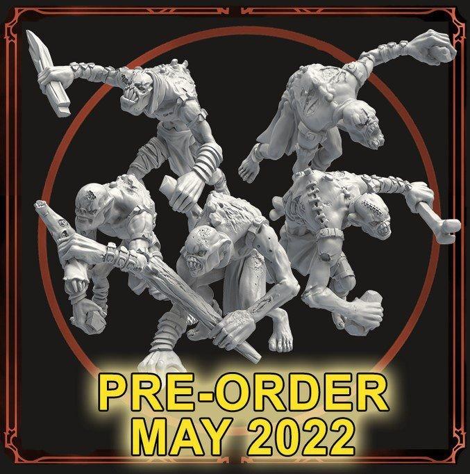 Ghoul Swarm Miniature Set