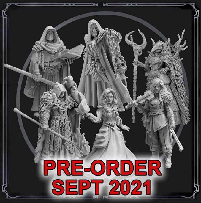 Grim Hollow: Miniature Box Set (Spell Casters)