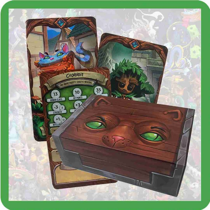 Stibbles' Codex: Companion Cards [Standard Deckbox]