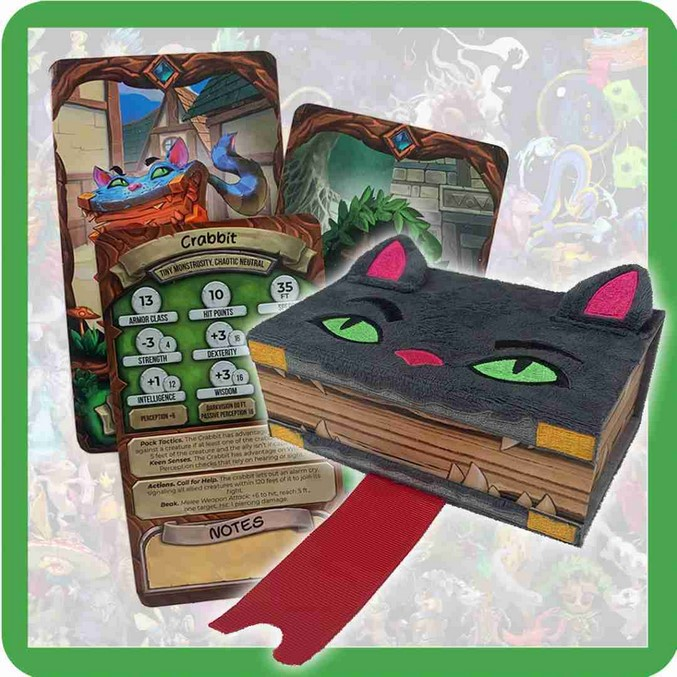 Stibbles' Codex: Companion Cards [Mimcat Deckbox]