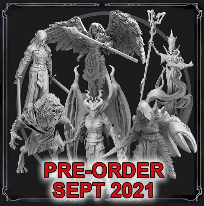 Grim Hollow: Miniature Box Set (Transformations)