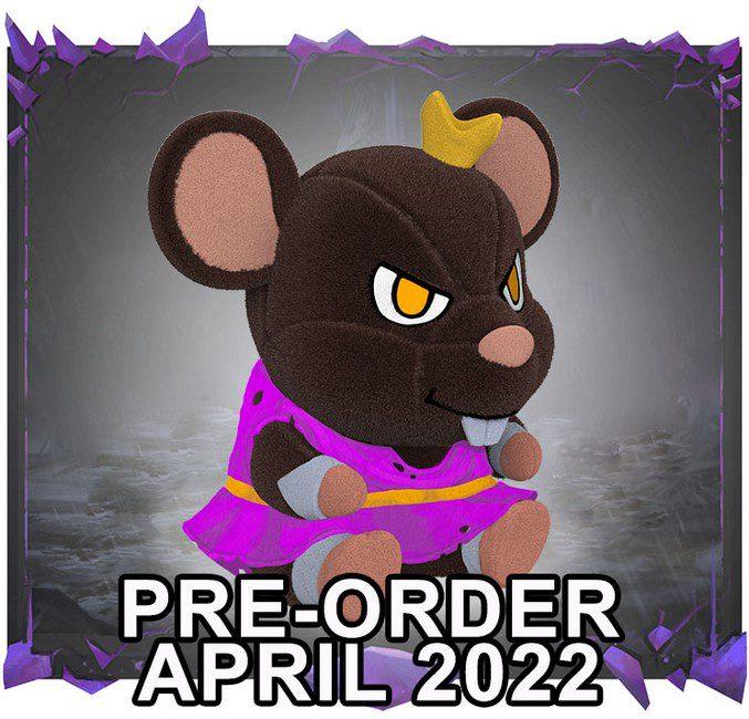 Drakkenheim: Rat Prince Plushie [Dress]