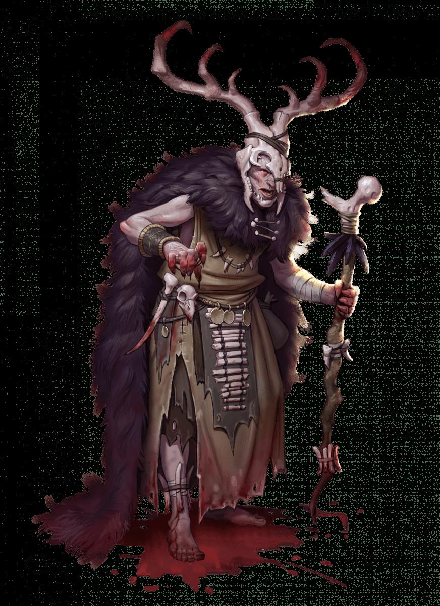 Evil Blood Druid