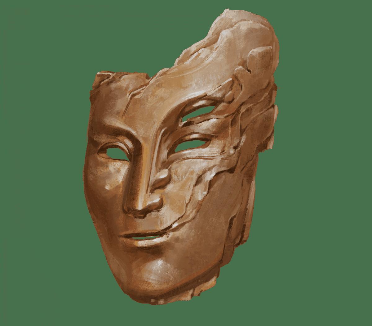 A magical mask